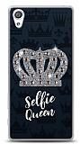 Sony Xperia XA Selfie Queen Taşlı Kılıf