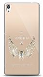 Sony Xperia XA Ultra Angel Death Taşlı Kılıf