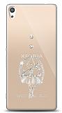 Sony Xperia XA Ultra Balerin Taşlı Kılıf