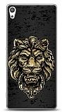 Sony Xperia XA Ultra Gold Lion Kılıf