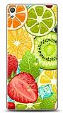 Sony Xperia XA Ultra Meyveler 2 Kılıf
