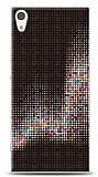 Sony Xperia XA1 Black Dottes Kılıf