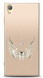 Sony Xperia XA1 Plus Angel Death Taşlı Kılıf