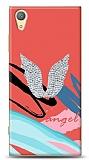 Sony Xperia XA1 Plus Colorful Angel Taşlı Kılıf