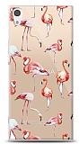 Sony Xperia XA1 Ultra Flamingo Resimli Kılıf