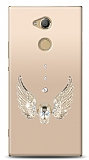 Sony Xperia XA2 Ultra Angel Death Taşlı Kılıf