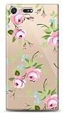 Sony Xperia XZ Premium Roses Resimli Kılıf