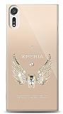 Sony Xperia XZs Angel Death Taşlı Kılıf