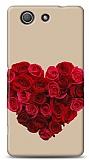 Sony Xperia Z3 Compact Rose Love 3 Kılıf