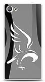 Sony Xperia Z5 Compact Siyah Beyaz Kartal Kılıf