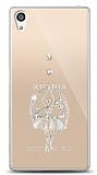 Sony Xperia Z5 Premium Balerin Taşlı Kılıf