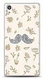 Sony Xperia Z5 Premium Bling Mustache Taşlı Kılıf