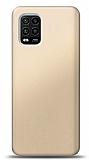 Xiaomi Mi 10 Lite Gold Mat Silikon Kılıf