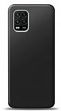 Xiaomi Mi 10 Lite Siyah Mat Silikon Kılıf