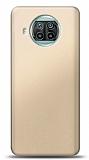 Xiaomi Mi 10T Lite Gold Mat Silikon Kılıf