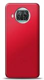 Xiaomi Mi 10T Lite Kırmızı Mat Silikon Kılıf