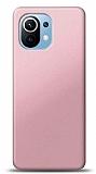 Xiaomi Mi 11 Rose Gold Mat Silikon Kılıf