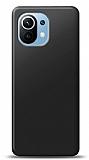 Xiaomi Mi 11 Siyah Mat Silikon Kılıf