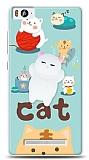 Xiaomi Mi 4c Üç Boyutlu Sevimli Kedi Kılıf