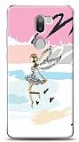 Xiaomi Mi 5s Plus Wing Girl Taşlı Kılıf