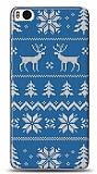 Xiaomi Mi 5s Sweater Deer Mavi Kılıf