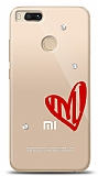 Xiaomi Mi 5X / Mi A1 3 Taş Love Kılıf