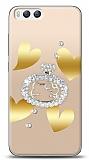 Xiaomi Mi 6 Lovely Kitty Taşlı Kılıf