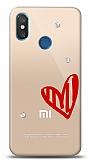 Xiaomi Mi 8 3 Taş Love Kılıf