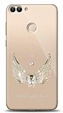 Xiaomi Mi 8 Lite Angel Death Taşlı Kılıf