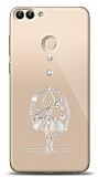 Xiaomi Mi 8 Lite Balerin Taşlı Kılıf