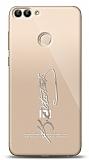 Xiaomi Mi 8 Lite Silver Atatürk İmza Kılıf
