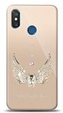 Xiaomi Mi 8 Pro Angel Death Taşlı Kılıf