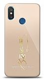 Xiaomi Mi 8 Pro Gold Atatürk İmza Kılıf