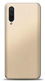 Xiaomi Mi 9 Lite Gold Mat Silikon Kılıf
