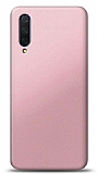 Xiaomi Mi 9 Lite Rose Gold Mat Silikon Kılıf