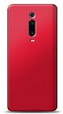 Xiaomi Mi 9T Kırmızı Mat Silikon Kılıf