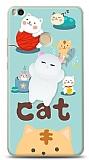 Xiaomi Mi Max 2 Üç Boyutlu Sevimli Kedi Kılıf