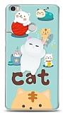 Xiaomi Mi Max Üç Boyutlu Sevimli Kedi Kılıf