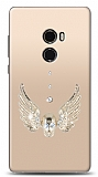 Xiaomi Mi Mix 2 Angel Death Taşlı Kılıf