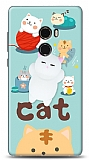 Xiaomi Mi Mix 2 Üç Boyutlu Sevimli Kedi Kılıf
