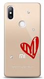Xiaomi Mi Mix 2s 3 Taş Love Kılıf