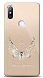Xiaomi Mi Mix 2s Angel Death Taşlı Kılıf