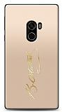 Xiaomi Mi Mix Gold Atatürk İmza Kılıf