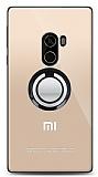 Xiaomi Mi Mix Siyah Tutuculu Şeffaf Kılıf