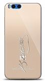 Xiaomi Mi Note 3 Silver Atatürk İmza Kılıf