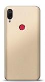 Xiaomi Mi Play Gold Mat Silikon Kılıf