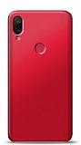 Xiaomi Mi Play Kırmızı Mat Silikon Kılıf