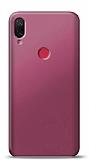 Xiaomi Mi Play Mürdüm Mat Silikon Kılıf