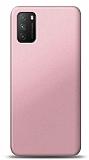 Xiaomi Poco M3 Rose Gold Mat Silikon Kılıf