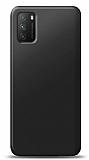 Xiaomi Poco M3 Siyah Mat Silikon Kılıf